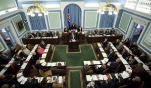 De Alþingi, het parlement van IJsland