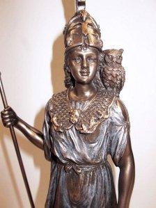 Godin Athena met uil