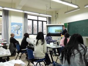 Lesgeven in SHanghai, het is eens iets anders