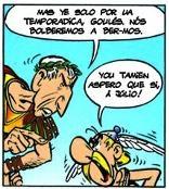 Asterix in het Mirandees