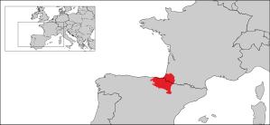 Het huidige Baskenland