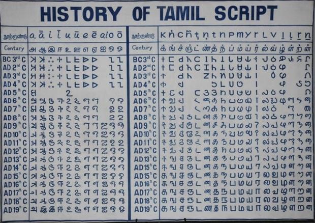 Oudste taal ter wereld? Volgens de Tamil wel, volgens taalkundigen niet.
