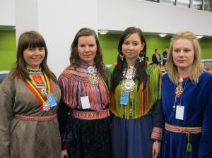 Sami klederdracht uit Noorwegen