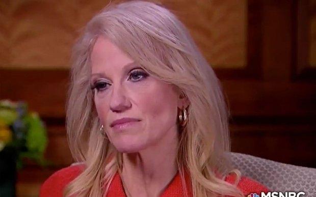"""""""Make America dumb again"""" - met deze Kellyanne Conway mag dat geen probleem vormen."""